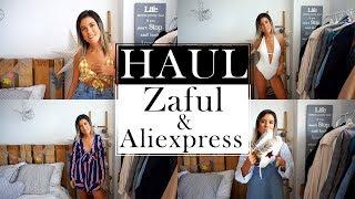 HAUL ZAFUL + ALIEXPRESS (try on) y SORTEO