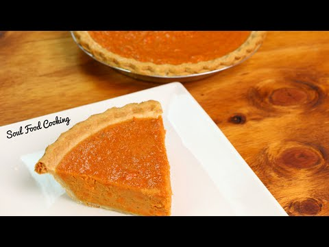 Sweet Potato Pie Recipe | How To Make Sweet Potato Pie