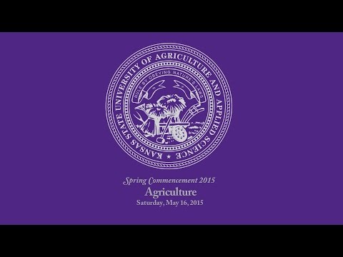 K-State Commencement - Spring 2015 | Agriculture