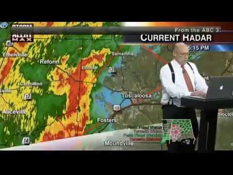 Tornado Coverage 1-3-15 ABC 33/40 Full Coverage 5:00-6:00PM CST