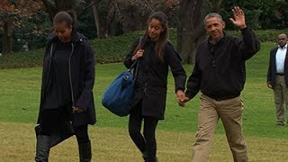 Obama Returns to Washington After Hawaii Trip