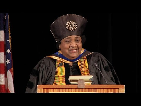 Assemblymember Shirley Weber:  2016 Commencement  Goldman School of Public Policy UC Berkeley