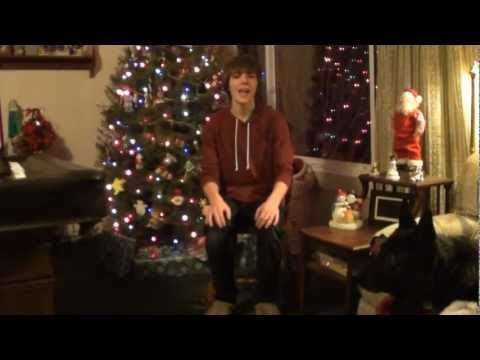 Michael Buble cover~MY GROWN UP CHRISTMAS LIST~Dylan Cragle age 15