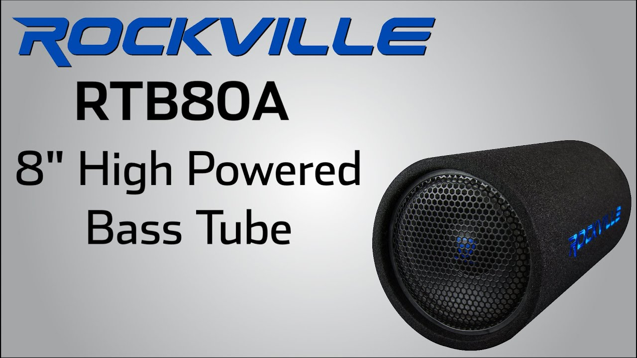 maxresdefault rockville rtb80a high powered bass tube youtube 8 inch bazooka tube wiring diagram at edmiracle.co