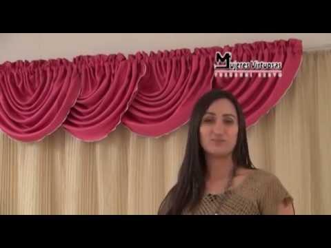 Como hacer una cenefa globo entubado ondas corridas 4 7 por yuruanni bravo youtube - Como colgar unas cortinas ...