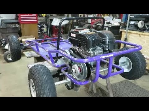go kart build off live axle install