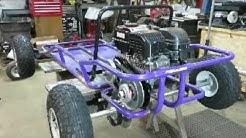 go kart build off live axle install