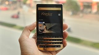 Karalux introude 24K Gold BlackBerry Porsche P'9983 in Vietnam
