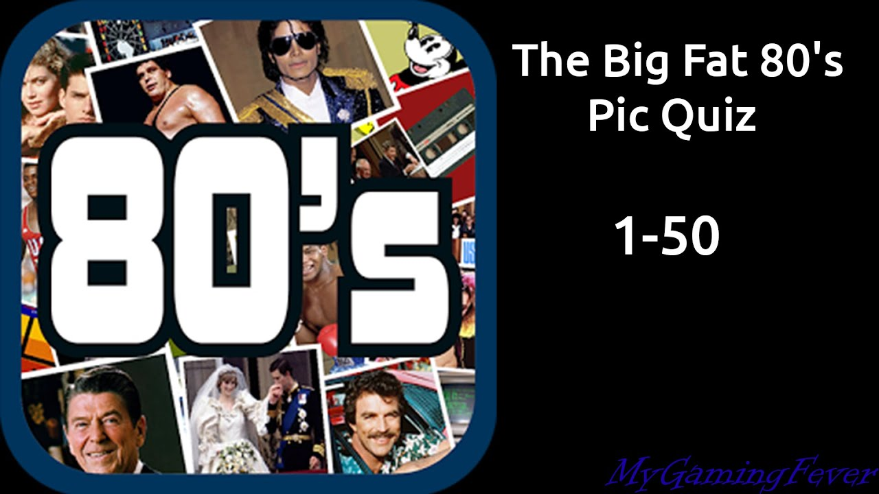 The Big Fat 80 S Pic Quiz