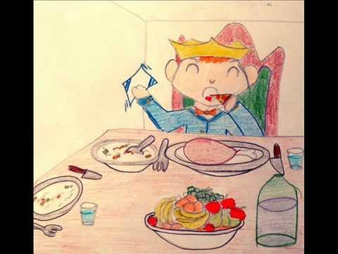 Cuento infantil el principito sin modales youtube for Dibujos para comedor escolar