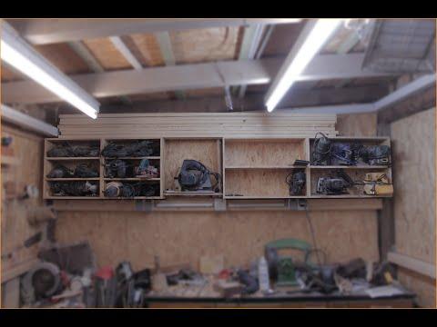 werkstatt regal bauen teil 1. Black Bedroom Furniture Sets. Home Design Ideas