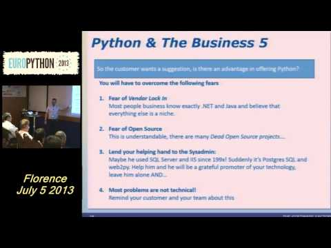 Image from Introducing Python as a main programming language in a company