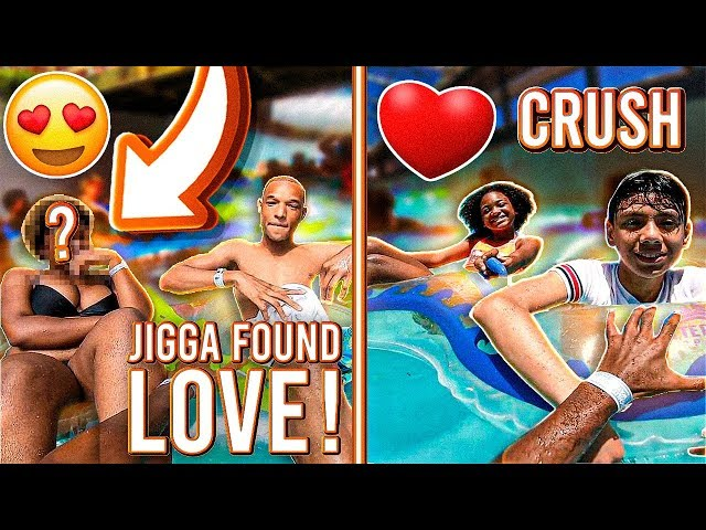 I TOOK MY LIL SISTERS CRUSH TO THE WATER PARK & JIGGA FOUND LOVE!!❤️