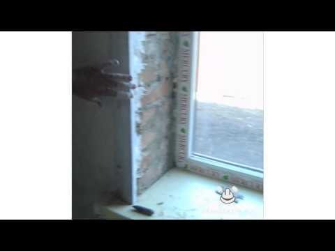 видео: Штукатурка откосов ч.1