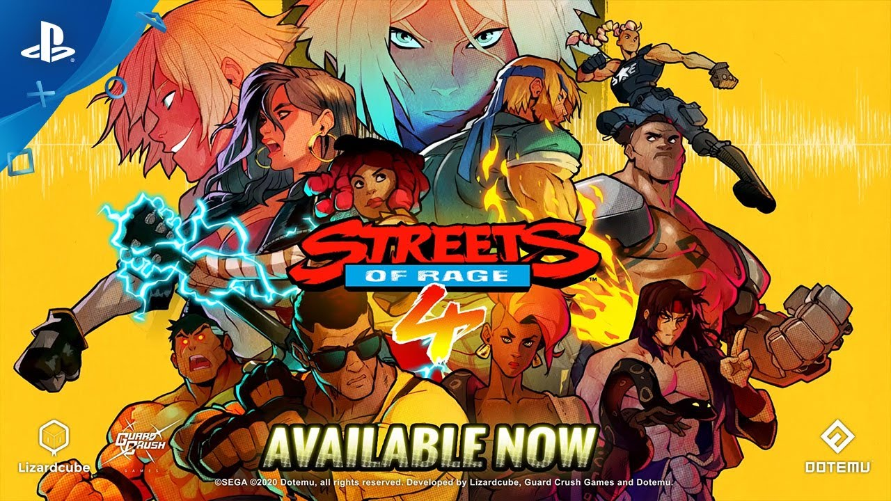 Streets of Rage 4 - Launch Trailer | PS4