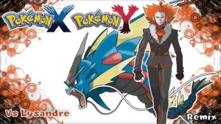 Repeat youtube video Pokémon X/Y Remix - Vs Team Flare Boss Lysandre