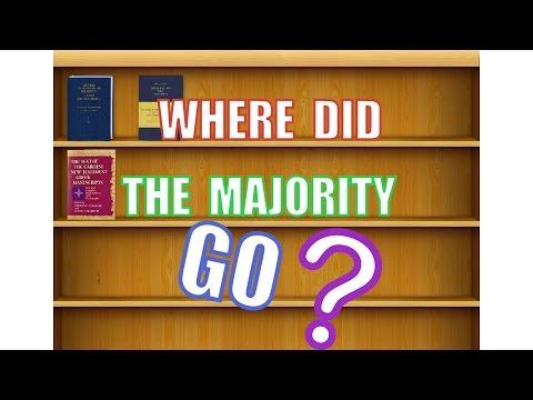 Where Did the Majority Go?