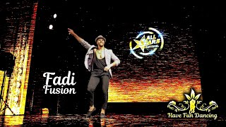 Salsa dance solo performance by Fadi Fusion at All Stars Festival, Budapest