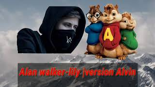 Gambar cover Alan walker-lily |version Alvin