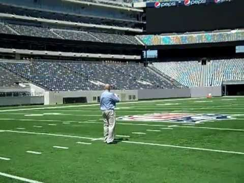 Comcast Spotlight at Giants Stadium at the Meadowlands.