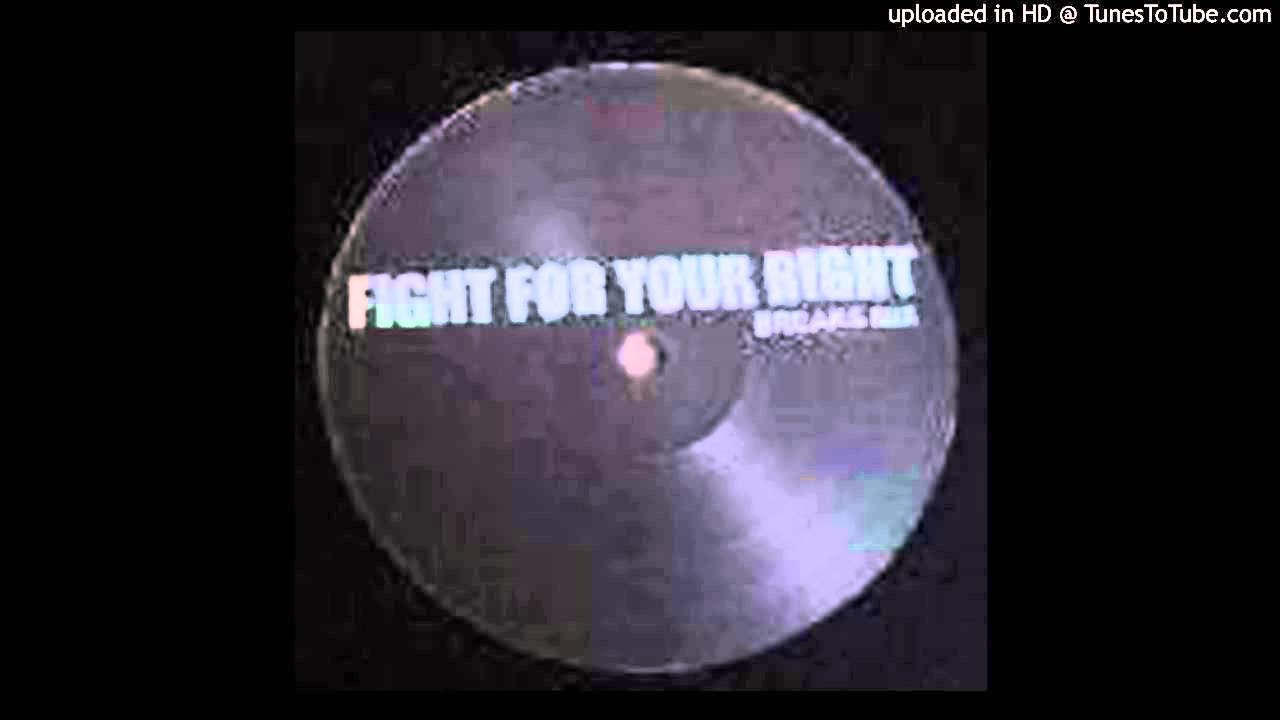beastie boys — fight for your right (krafty kuts remix)