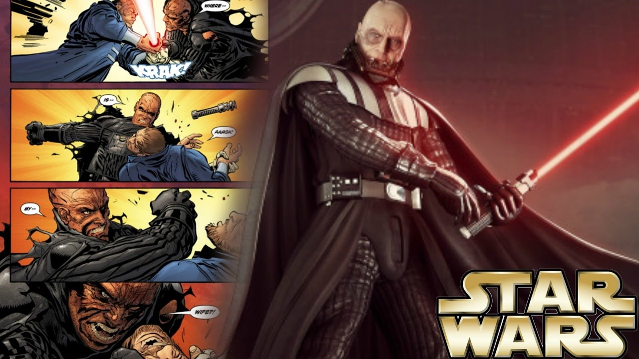 Why Darth Vader Can Survive and Fight Without His Mask ...