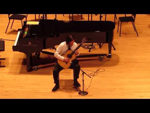Sean Thrower performs at UGA School of Music Graduation