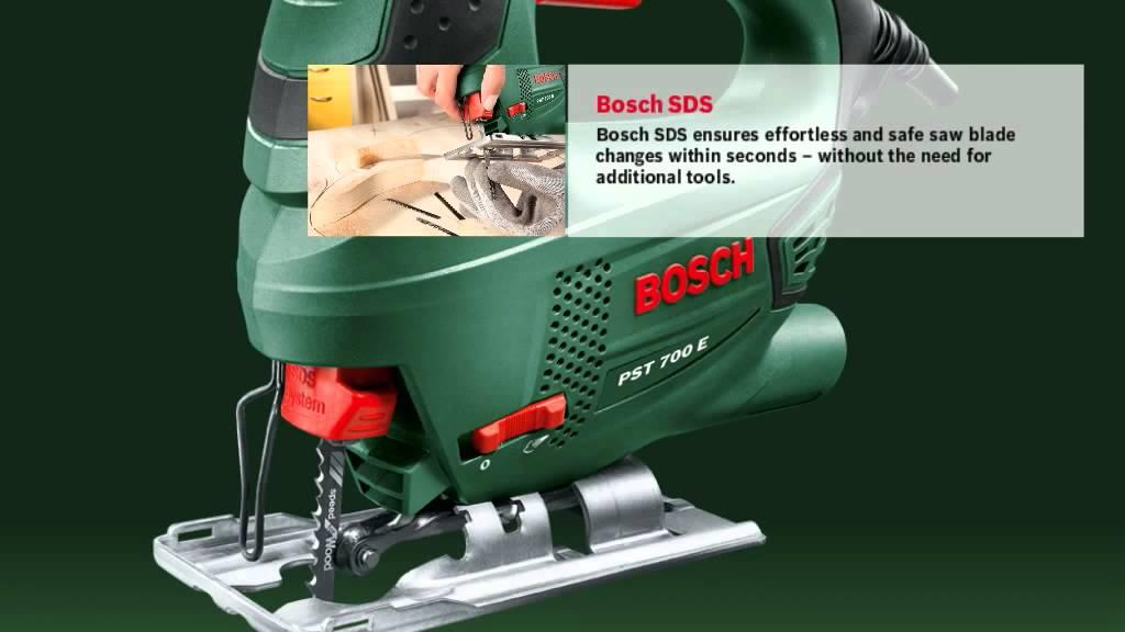 Bosch jigsaw pst 700 e youtube bosch jigsaw pst 700 e greentooth Choice Image