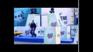 Ryan Doyle performs world class Parkour at MTV Xtreme