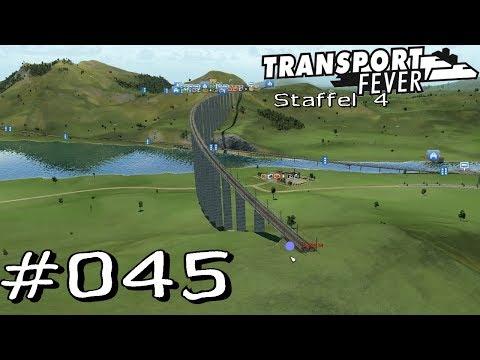 Transport Fever S4 #045 - die teuerste Millionen Brücke [Gameplay German Deutsch]