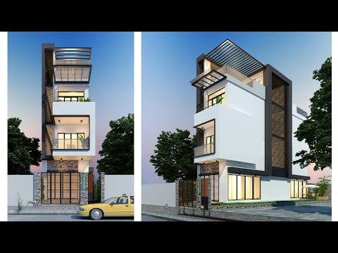 Townhouse Plans Narrow Lot 4.2m with 4 Bedrooms