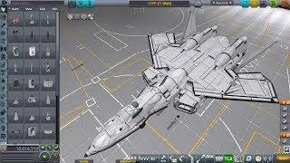 [KSP] YF-21 timelapse build from Macross Plus