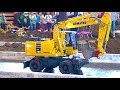 Komatsu PW 180 I Mini Baustelle Alsfeld 2017 I RC ACTION I CONSTRUCTION SITE I Fumotec