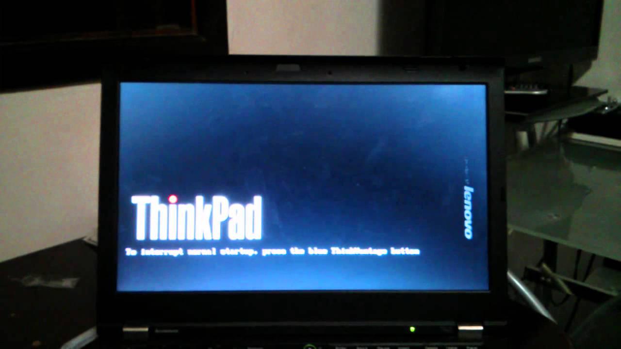 ThinkPad T420 EFI Arch Linux Boot