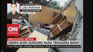 Download Video Breaking News! Gempa Bumi Guncang Bali & NTB MP3 3GP MP4