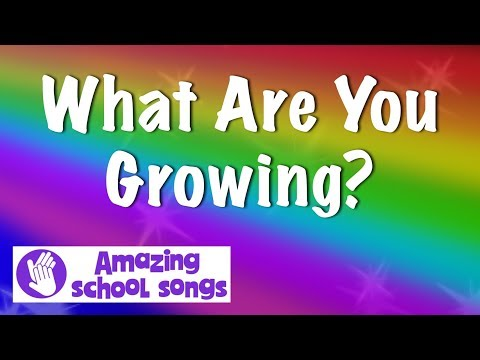 No 5 | What Are You Growing | harvest, autumn song for schools, children, choirs | karaoke lyrics