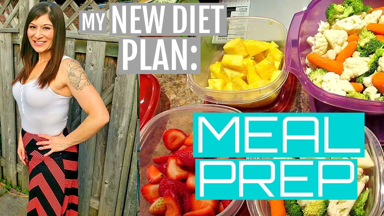 MY NEW DIET PLAN: MEAL PREP!!! EXTREME WEIGHT LOSS