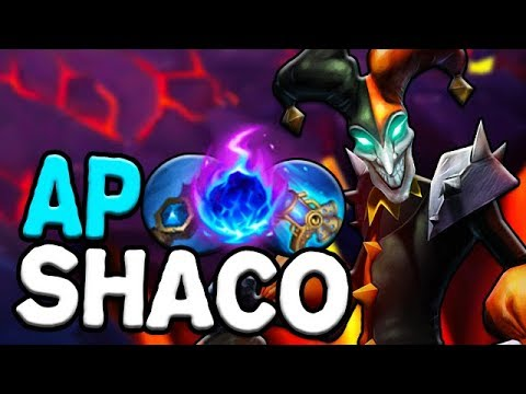 HOW CAN SHACO STOMP WITH THIS BUILD?? - AP Shaco Jungle Season 8