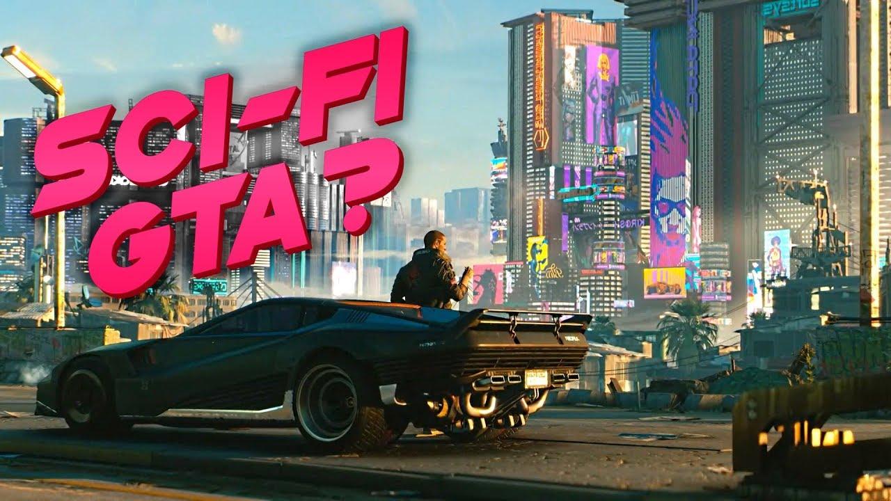 Cyberpunk 2077 - Sci-fi GTA or not? - YouTube