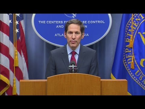 Director of Centers for Disease Control speaks about U.S. Ebola patient, investigation