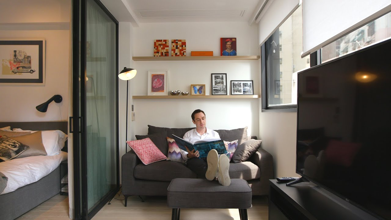 Never Too Small Ep 21 25sqm Tiny Apartment 379 Queens Road Youtube