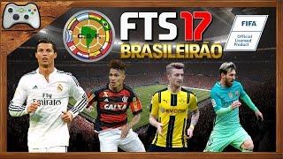 FTS2017 COM BRASILEIRÃO 2017 e LIBERTADORES com GRAMADO em HD Atualizado!! (Download)