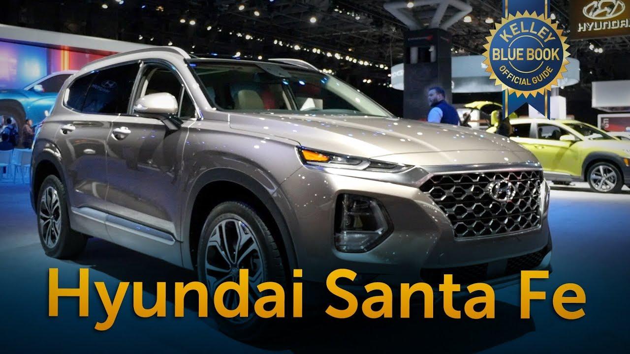 2019 Hyundai Santa Fe 2018 New York Auto Show