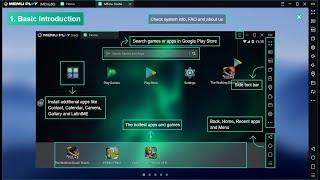 Hướng Dẫn Cài Phần mềm giả lập Android MemuPlay Trên Máy Tính