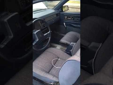 Oldsmobile Cutlas Calais S 1991