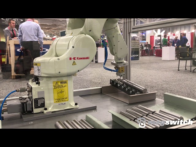 Magswitch T30 In Action Forge Fair 2019 | Magswitch Technology