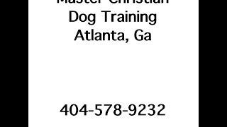 Master Christian Dog Training