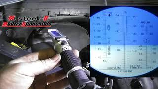 как проверить тосол/антифриз/охлаждающая жидкость