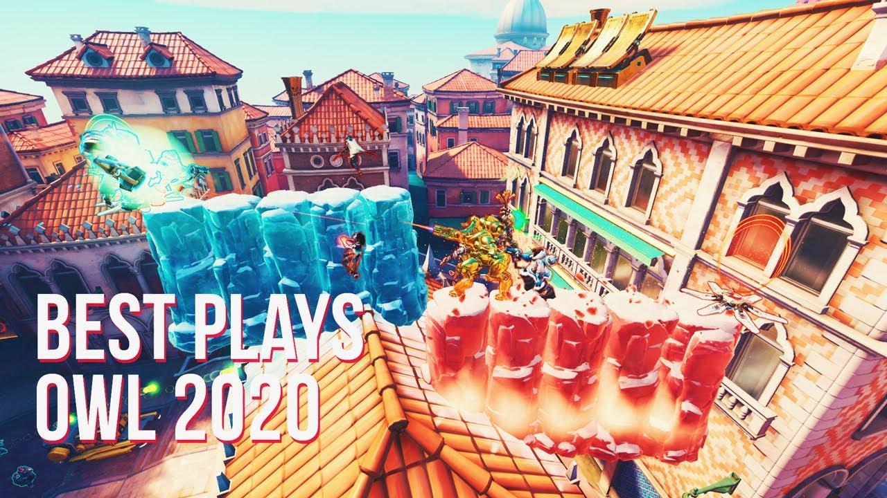 BEST PLAYS OVERWATCH LEAGUE 2020 | Overwatch Montage