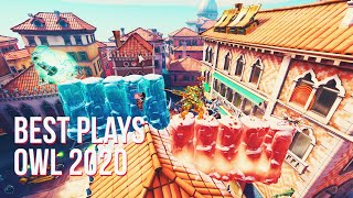 BEST PLAYS OVERWATCH LEAGUE 2020 | Overwatch Montage